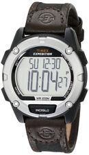 Relojes de pulsera Timex de cuero de alarma