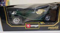 Bburago 1937 Jaguar SS 100 1:18 Scale Diecast Model Car Burago cod. 3006
