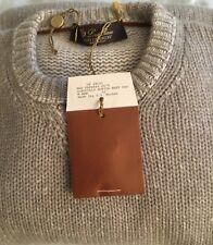 "Loro Piana Men's Girocollo ""Softie"" Crew Neck Sweater Size 52 Retail $2,495.00"