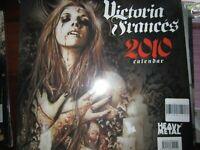 HEAVY METAL PRESENTA VICTORIA FRANCES 2010 CALENDAR SIGILLATO SOLD OUT DA ANNI