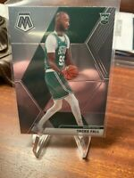 2019-20 Panini Mosaic Tacko Fall Base Card # 244 Celtics Rookie Card RC