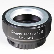 Zhongyi Focal Reducer Lens Turbo II Booster M42 für Micro 4/3 Adapter MFT OM-D