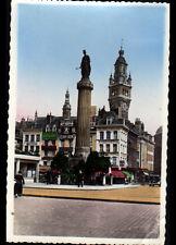 LILLE (59) MONUMENT Commemoratif du SIEGE de 1792 & COMMERCES en 1960