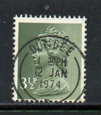 SG X858eb 3½p Bronze-green Machin - Fine Used Dundee CDS
