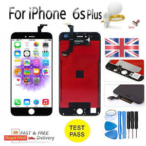 for iPhone 6S Plus Black Touch Screen LCD Display Digitizer Assembly Replacement