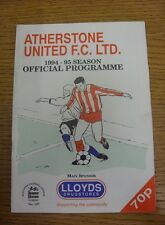 31/01/1995 Atherstone United v Hinkley United [Midland Floodlit Cup] (Faint Crea