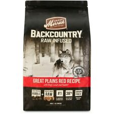 Merrick Backcountry Grain Free Raw Infused Great Plains Red Meat Dry Dog Food, 2