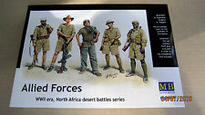 Allied Forces  North Africa WWII    1/35 Master Box # 3594