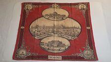 1876 Centennial International Exhibition Philadelphia Bandana Washington Grant