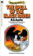 Which Way Book #3 The Spell of the Black Raven by Austin & Kramer PB 1982