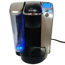Keurig K70 Single Cup Brewing System Coffee Maker Silver Black Works Man Cave