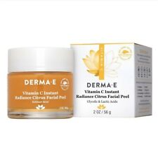 DERMA•E - Vitamin C Instant Radiance Citrus Facial Peel - NEW! ❤️