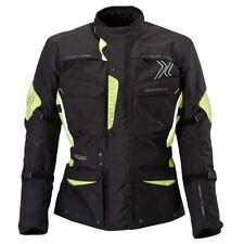 Blouson de motard germot JUKE couleur : SW / jaune fluo Tai: XL chemise en