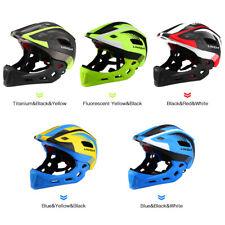 Cycling Helmet Kids Children Detachable Safety Protective Full-Face Helmets J2W0