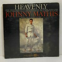 Johnny Mathis – Heavenly: Columbia 1959 Vinyl LP Album (Pop Vocal)