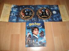 HARRY POTTER Y LA PIEDRA FILOSOFAL EDICION CON 2 DISCOS EN DVD EN BUEN ESTADO