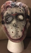 Jason Friday The 13th Vinyl Licensed Costume Child Kids Mask Rubies Ages 5-7