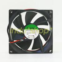 for Sunon KDE2409PTB1-6A Fan 24V 3.6w 92*92*25MM 2Pin Cooling Fan