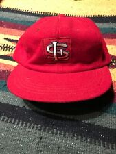 Vintage St. Louis Cardinals Souvenir Red Fitted Hat Cap 7 1/8 MLB 60s 70s Gibson