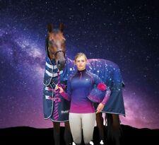Shires Tempest Nebular Combo Neck Waterproof Turnout Horse Rug 200g Medium