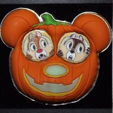 Disney HKDL Hong Kong Halloween 2011 Chip Dale Pumpkin LE 500 Pin