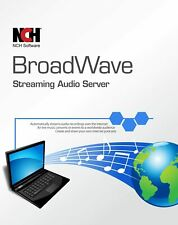 NCH BroadWave Streaming Audio Software
