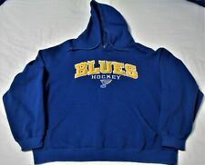 St. Louis Blues Hooded Sweatshirt Hoodie Shirt NHL Hockey Adult Size XL