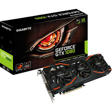 GIGABYTE GeForce® GTX 1080 WindForce OC 8 GB (GV-N1080WF3OC-8GD)( NVIDIA, Grafik