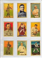 Set of 9 MC 1912 Centennials Honus Wagner Ty Cobb Shoeless Joe Cy Young & more