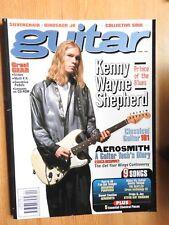Guitar Magazine - Apr 1997 Silverchair Kenny Wayne Shepherd Aerosmith ++