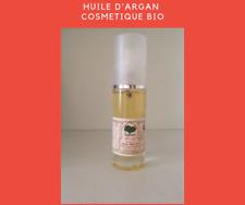 Huile Argan Cosmétique Bio 40ml avec spray certifié ECOCERT/USDA