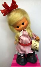 13� Vintage Mary Vasquet Artesania Made In Spain Blonde Cloth Doll #4303 Tag