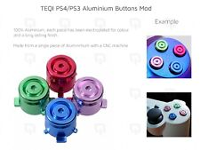 PS4/PS3 botones de metal aluminio personalizada para Controlador Mod Triángulo 001 011 020