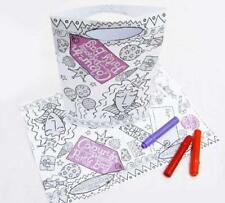 Eggnogg Colour-in Princess Party Bags (pack of 6)