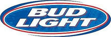 """Bud Light Big 12""""x4"""" Full Color Decal Outdoor Use"""