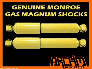 FRONT MONROE GAS MAGNUM SHOCK ABSORBERS FOR MITSUBISHI PAJERO NS 4WD WAGON 06-ON