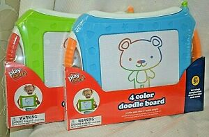 U PICK 4 COLOR Doodle BOARD Play RIGHT Ages3+ Green BLUE DRAW Learn CRAFT New