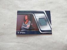 STAR TREK ENTERPRISE SEASON 4 COSTUME CARD  - T' POL  -  C5
