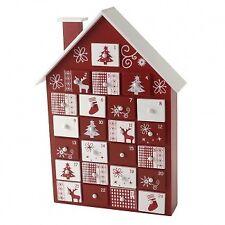 Heaven Sends Wooden House Scandi Christmas Advent Calendar Keepsake