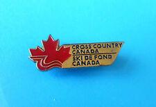 CROSS COUNTRY CANADA - SKI DE FOND CANADA ... pin badge * alpine skiing