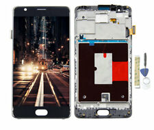 For Oneplus 3 3T A3000 A3003  LCD Screen Display Touch Digitizer Assembly +Frame