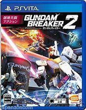 Used PS Vita Gundam Breaker 2   SONY PLAYSTATION JAPANESE IMPORT