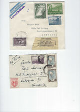 ARGENTINA-COVERS-(12)-OLDER--EXTERNAL USE--USED-FINE-NICE FRANKING-#512