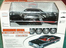 CLASSIC METAL WORKS 1961 CHEVY  IMPALA HARDTOP ASSEMBLY KIT 1/24 SKILL LEVEL 2