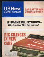 US News & World Report Magazine September 20 1976 China After Mao Tse-tung