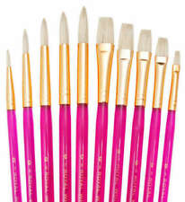 Royal & Langnickel Synthetic Bristle Flat Art Brushes