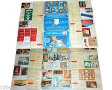 VDB catalogo regali di gran marca anni 60 foglio pieghevole