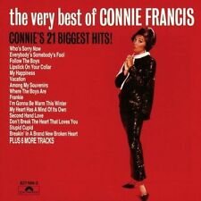 The Very Best of Connie Francis by Connie Francis (CD, Oct-1990, Polydor)