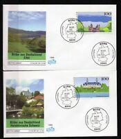 Alemania / Germany / 2 Sobres Primer Día - FDC año 1996