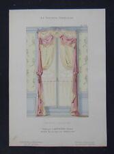 LA TENTURE FRANÇAISE 1904 - Fenêtre Louis XV - Davène décoration 34